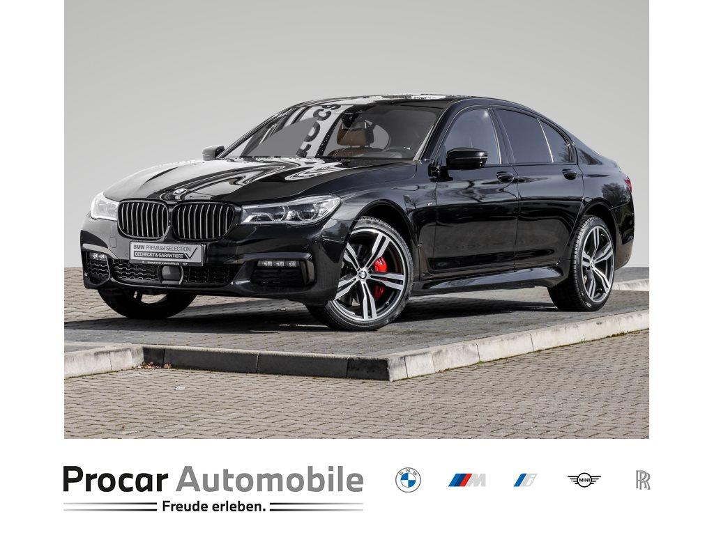 BMW 750i xDrive Sportpaket Head-Up Komfortsitz Laser, Jahr 2018, Benzin