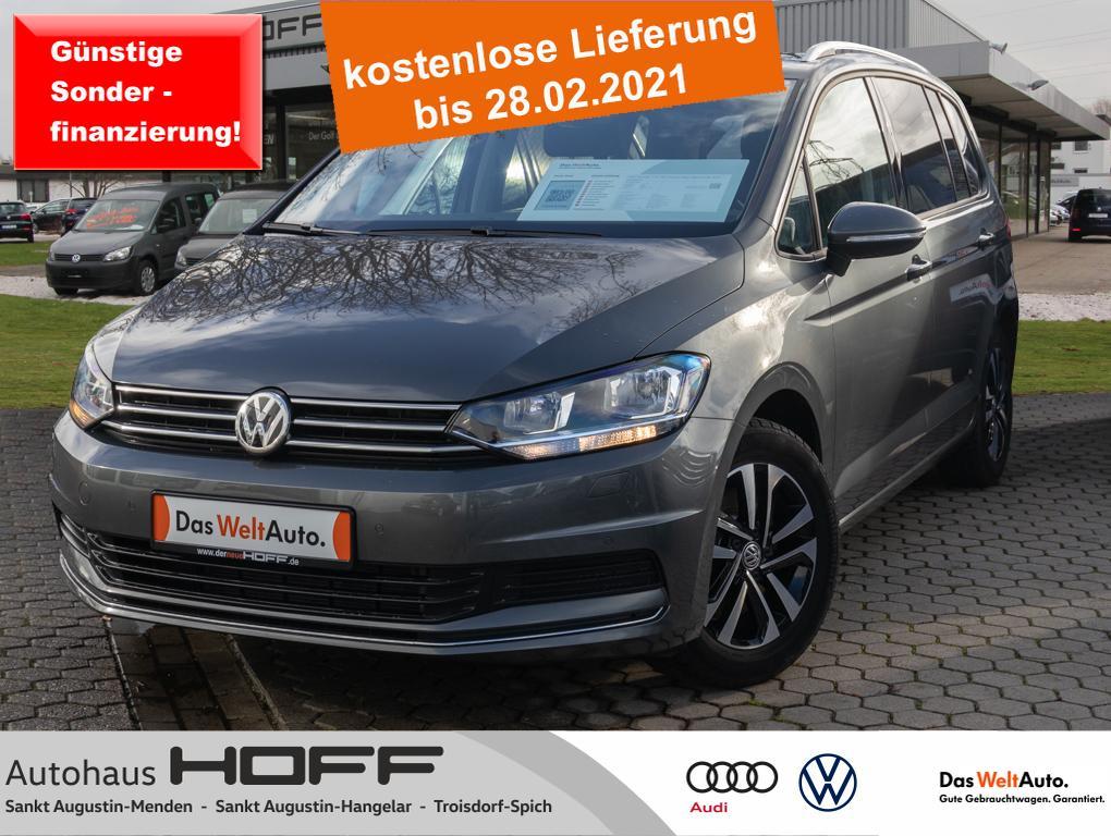 Volkswagen Touran 1.5 TSI United Navi Bluetooth APP 7 Sitze, Jahr 2020, Benzin