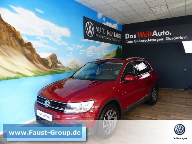 Volkswagen Tiguan SOUND NAVI AHK AppConnect ACC, Jahr 2017, Benzin