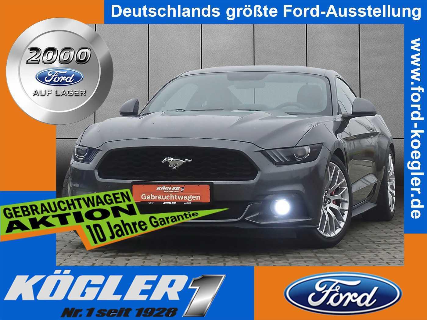 Ford Mustang Fastback 2.3 EcoBoost/Premium-Paket, Jahr 2017, petrol