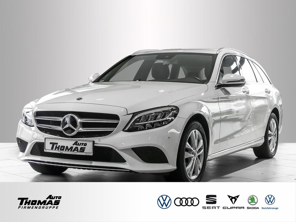 Mercedes-Benz C 200 T Avantgarde 9G-Tronic LED+NAVI, Jahr 2019, Benzin