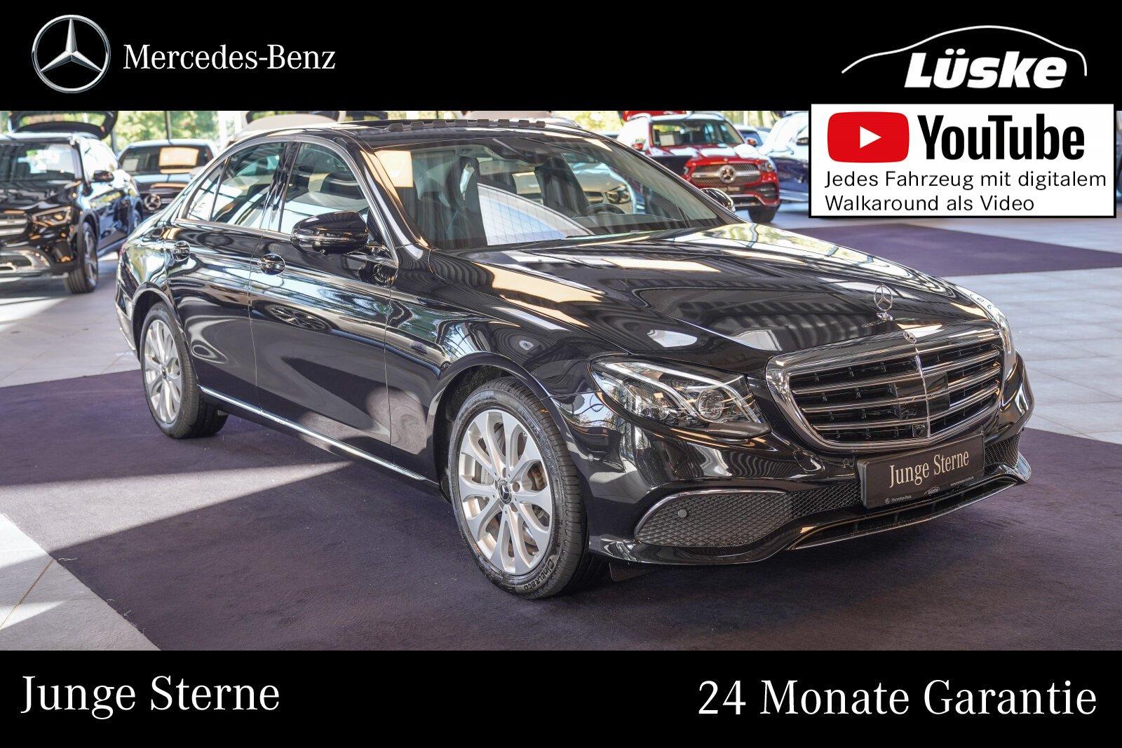 Mercedes-Benz E 450 4M EXCLUSIVE Schiebedach Assistenz Memory, Jahr 2019, Benzin