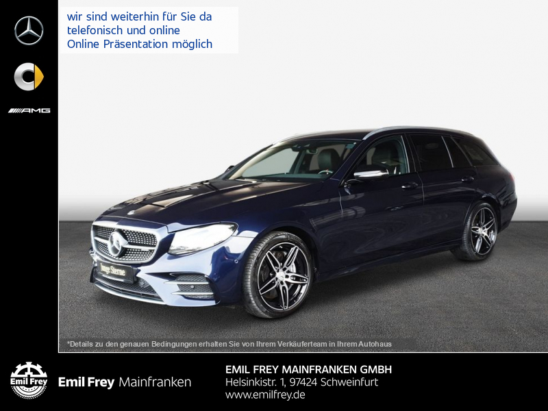 Mercedes-Benz E 53 AMG 4M T+AHK+HeadUp+COM+HiFi+Beam+Distr, Jahr 2019, Benzin