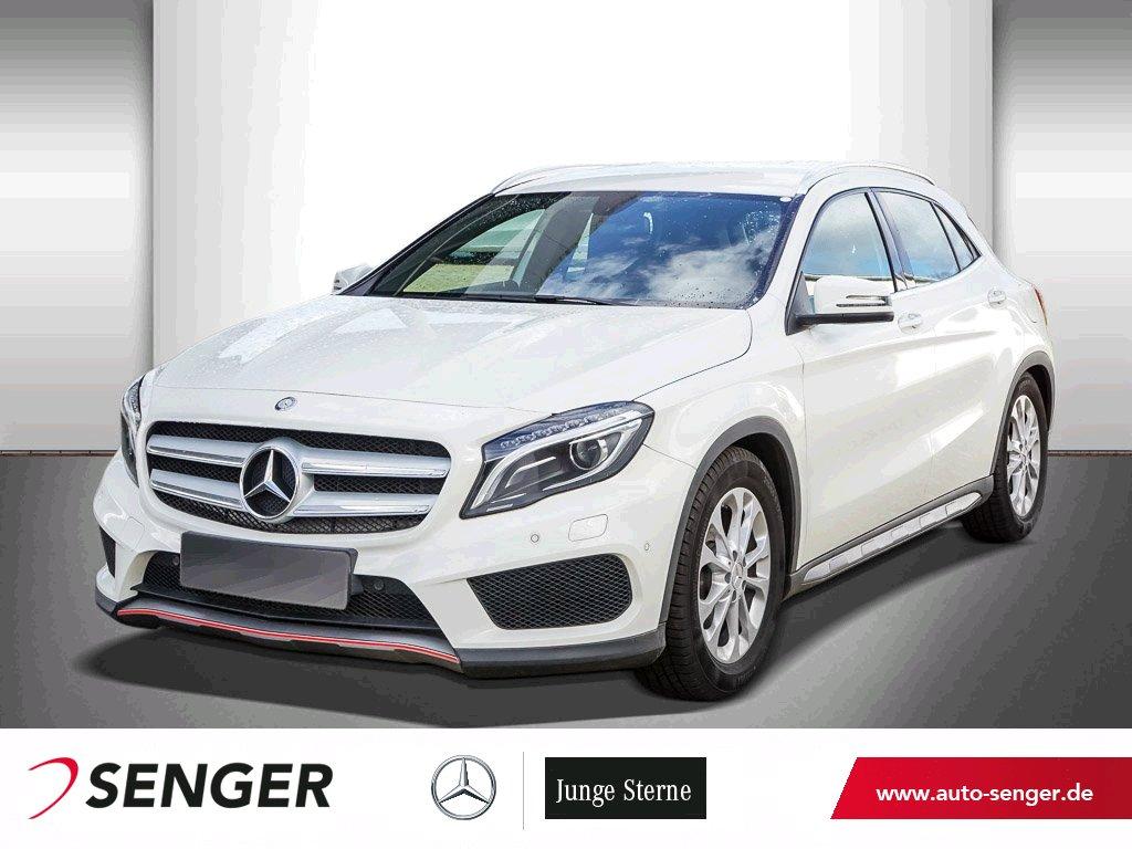 Mercedes-Benz GLA 200 STREET STYLE+SHZ+XENON+STYLING-PAKET, Jahr 2015, Benzin