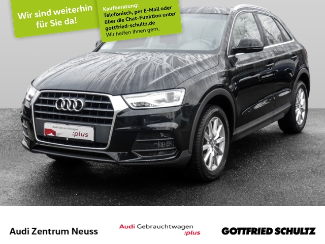 Audi Q3 1.4 TFSI NAVI, XENON, GRA, SHZ, Jahr 2017, Benzin