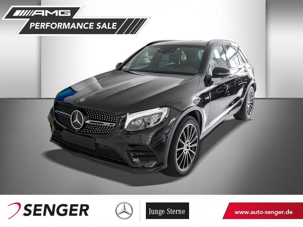 Mercedes-Benz GLC 43 AMG+FAHRASSP+COM+PANO+KAM360+STAND, Jahr 2017, Benzin