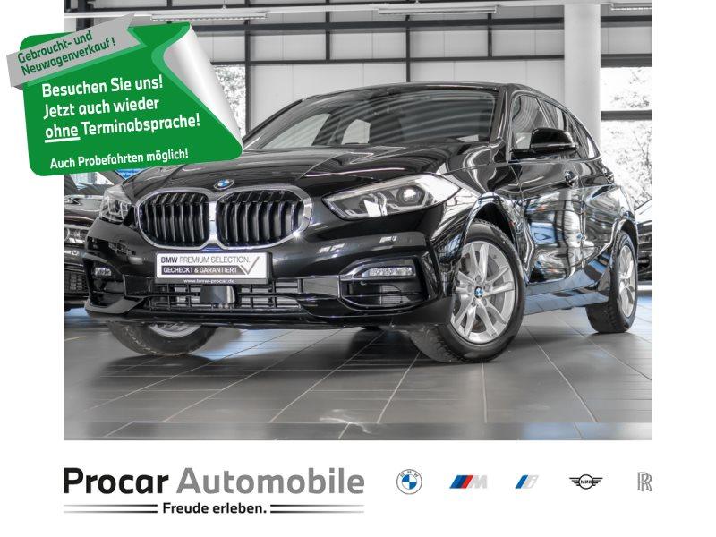 BMW 118i /5 Sport Line HiFi DAB LED WLAN Tempomat, Jahr 2020, Benzin