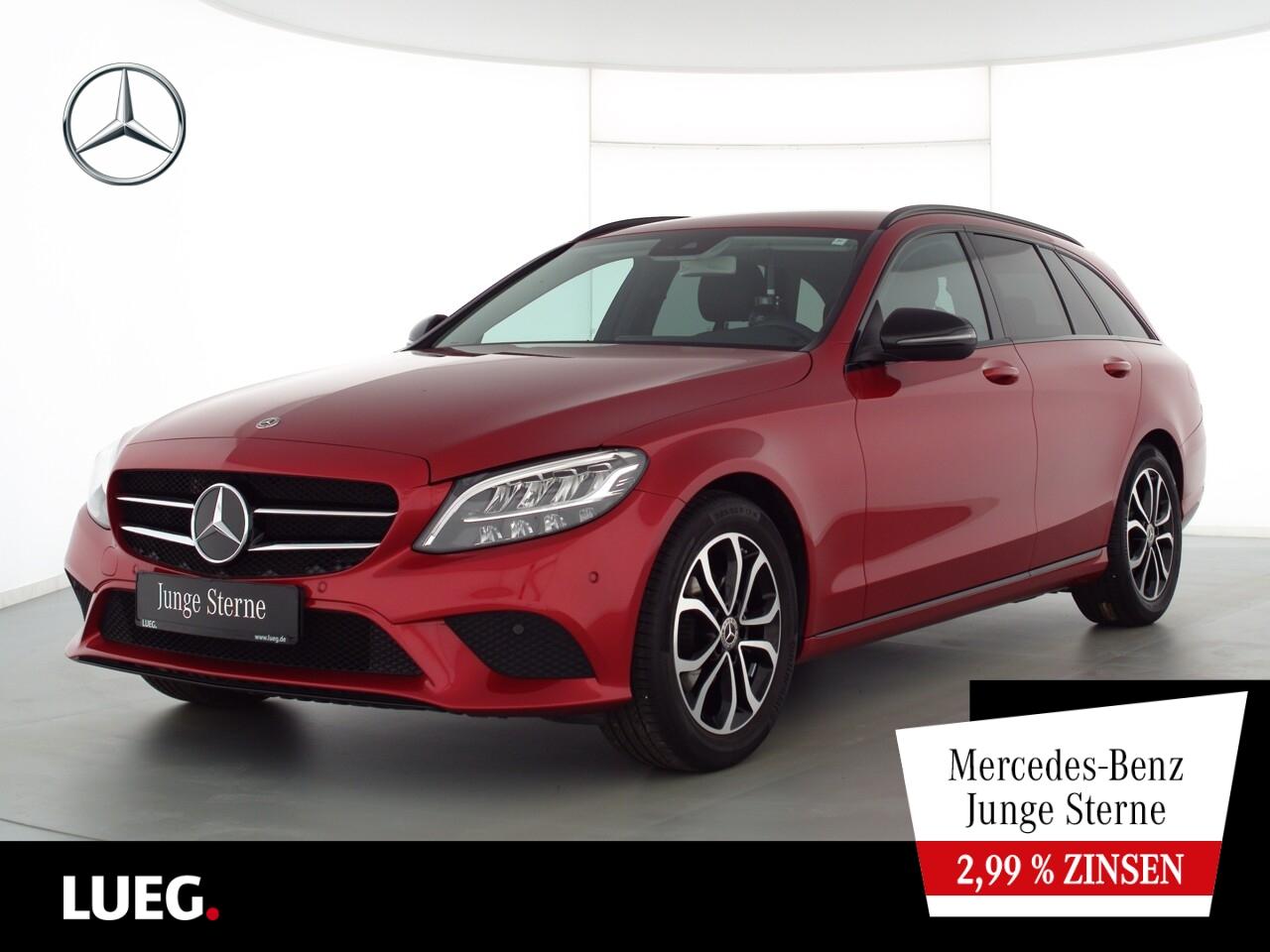 Mercedes-Benz C 180 T Avantgarde+Navi+LED-HP+elHeck+NightP+RFK, Jahr 2019, Benzin