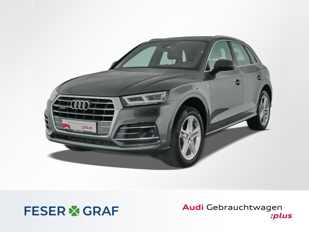 Audi Q5 2.0 TDI qu.S tronic 3x S Line HUD,LED,Pano, Jahr 2017, Diesel