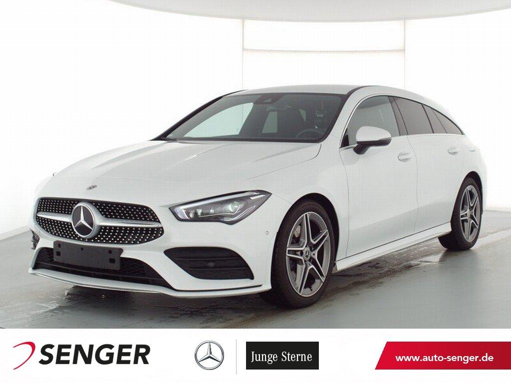 Mercedes-Benz CLA 200 Shooting Brake AMG Line Multibeam Navi, Jahr 2021, Benzin