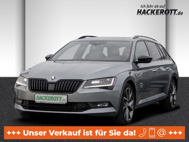 Skoda Superb Combi SportLine 2.0 TDI Bi-Xenon StandHZG AD e-Sitze ACC Rückfahrkam. El. Panodach, Jahr 2017, Diesel
