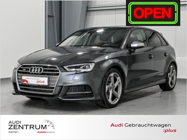 Audi S3 Sportback 2.0 TFSI quattro Navigation, Panorama, Jahr 2017, Benzin