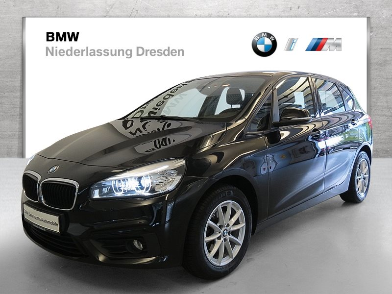 BMW 218d Active Tourer EURO6 Advantage LED Navi Tempomat Shz, Jahr 2017, Diesel