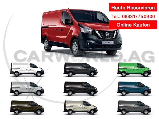 Nissan NV300 L1H1 2.7Schiebetüre re, Heckvergl. Comfort, Jahr 2020, Diesel