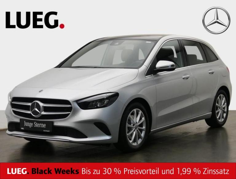 Mercedes-Benz B 200 d Progressive+MBUX+NavPrem+Pano+LED+ParkAs, Jahr 2019, Diesel