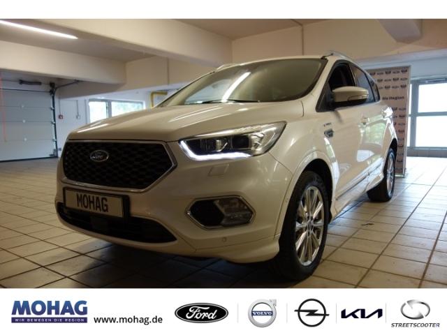 Ford Kuga Vignale Leder Navi Klimaautom RFK WinterPaket Tempomat, Jahr 2017, Benzin