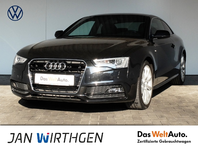 Audi A5 Coupé 1.8 TFSI S-Line Navi XenonPlus GRA, Jahr 2016, Benzin