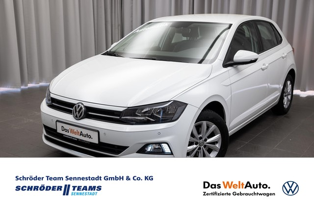 Volkswagen Polo 1.6 TDI DSG Highline NAVI,TELEFON,SITZHEIZUNG, Jahr 2018, Diesel