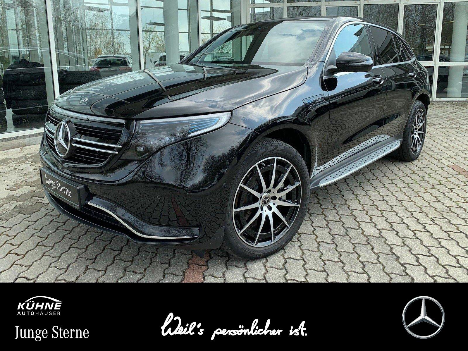 Mercedes-Benz EQC 400 4M AMG+SHD+20Zoll+360+LED+2500 Bonus, Jahr 2020, Elektro