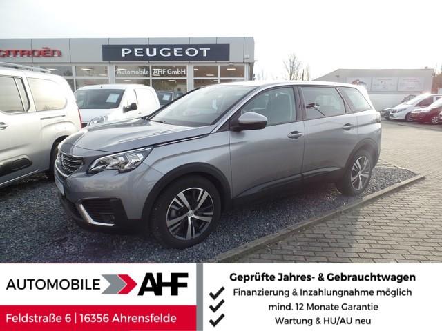 Peugeot 5008 PureTech 130 Active (7S. AHK NAVI SHZ R*KAMERA), Jahr 2019, Benzin