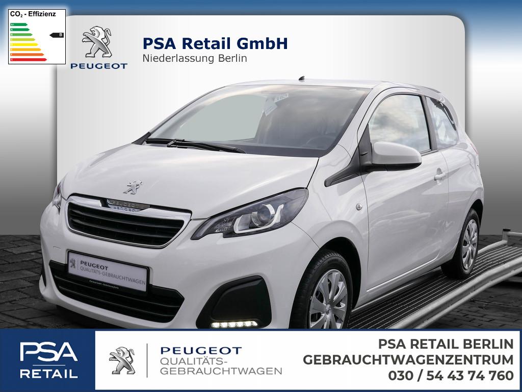 Peugeot 108, Jahr 2016, petrol