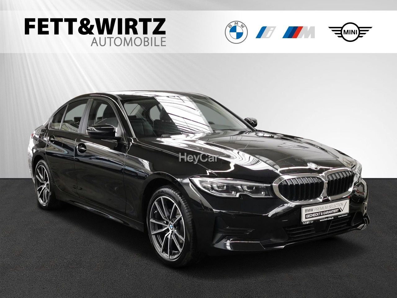 BMW 318d Advantage Aut. Sportsitze Stop&Go HiFi DAB, Jahr 2021, Diesel