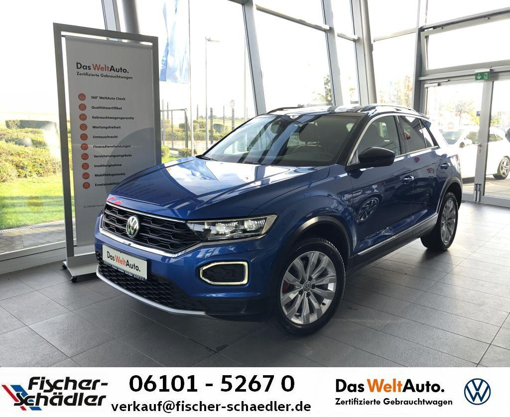 Volkswagen T-ROC Sport 2.0TSI*DSG*DCC*Pano*StandHz*LED*Navi, Jahr 2020, Benzin
