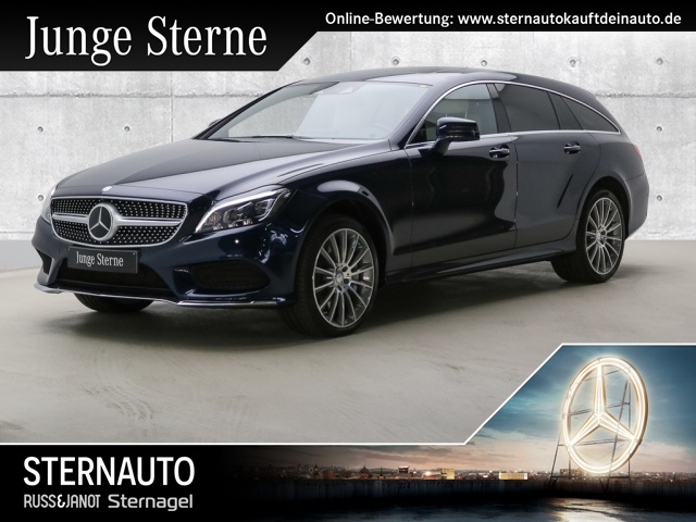 Mercedes-Benz CLS 500 4M SB AMG Line Distr SHD Sitzklima Burm 19, Jahr 2017, petrol