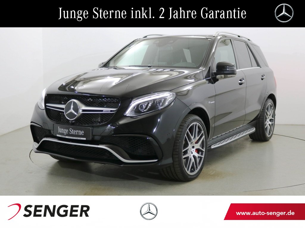 Mercedes-Benz GLE 63 AMG S Drivers-Package TV Comand Standhzg., Jahr 2016, petrol