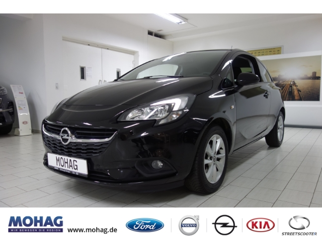 Opel Corsa E Active 1.4L*PDC*GJR*KLIMA*LMF*SHZ*CITYLENKUNG*, Jahr 2017, Benzin