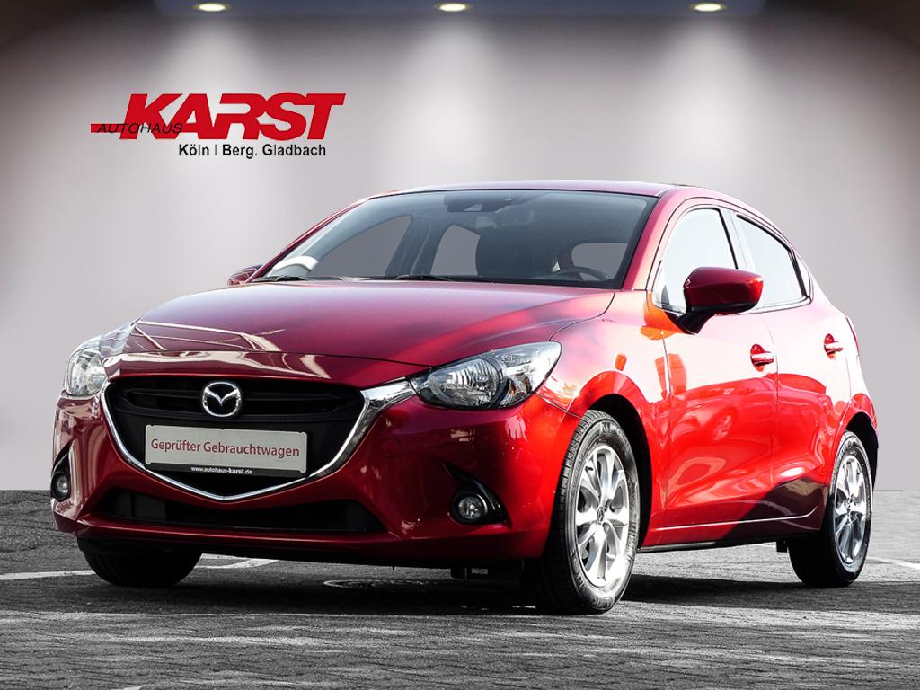 Mazda 2 SKYACTIV-G 90 Exclusive-Line Navi Spurhalte, Jahr 2015, Benzin