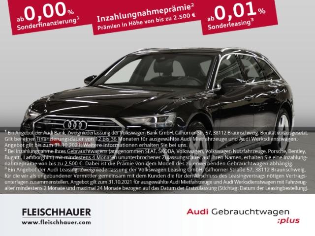 Audi A6 Avant 40 TDI qu. design Navi+LED+19''+VC+Leder+Kamera+PDC, Jahr 2020, Diesel