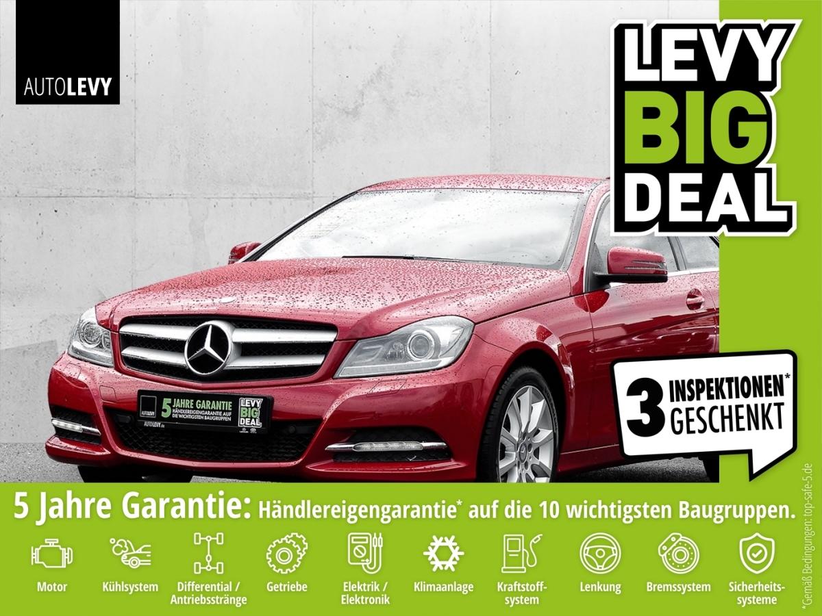 Mercedes-Benz C 200 Coupe Avantgarde 7G-TRONIC Bi-Xenon ILS*Na, Jahr 2013, Benzin