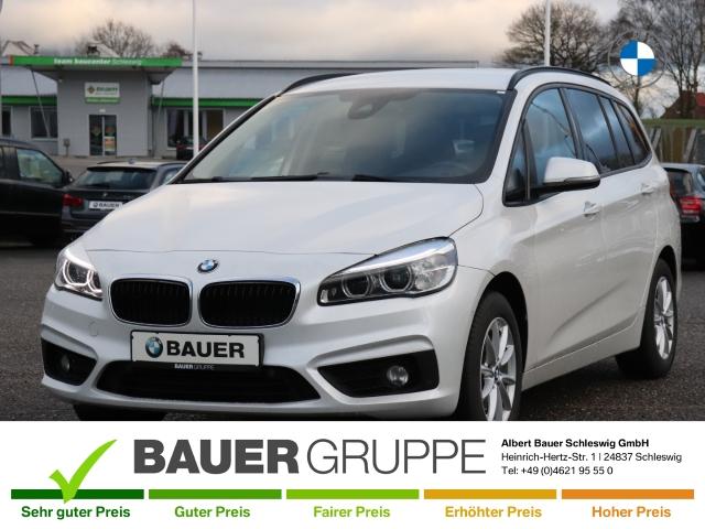 BMW 218 Gran Tourer i Advantage LED Navi El. Heckklappe PDCv+h LED-Tagfahrlicht Multif.Lenkrad, Jahr 2015, Benzin