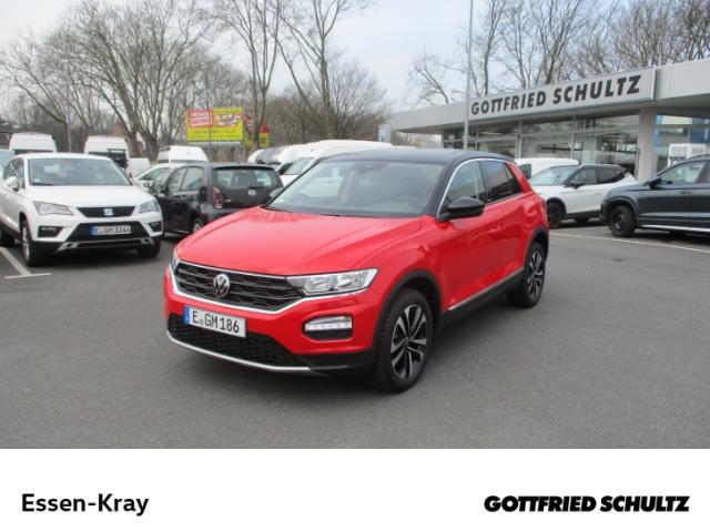 Volkswagen T-Roc United 1.0 TSI NAVI PDC SHZ GRA FSE DAB, Jahr 2021, Benzin