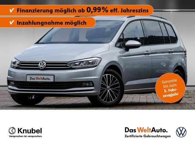 Volkswagen Touran Comfortline 1.5 TSI LED Pano. Fahrassi. N, Jahr 2020, Benzin