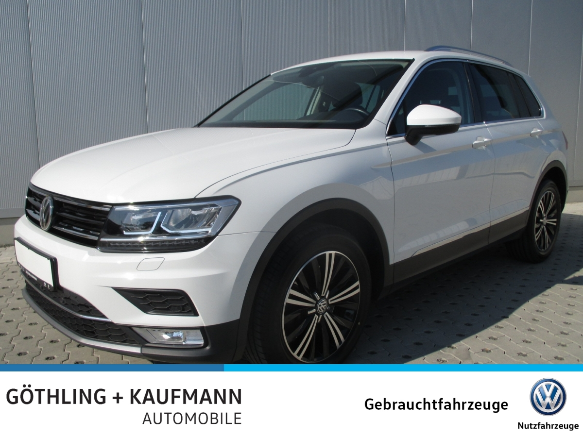 Volkswagen Tiguan 2.0 TDI 4M Highline DSG 140kW*ACC*AHK*Kam, Jahr 2016, Diesel