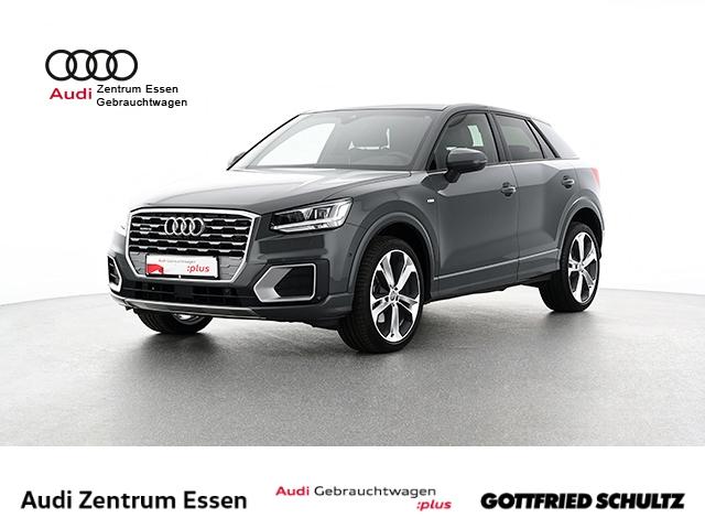 Audi Q2 quattro sport S-TRONIC S-LINE LED NAV PANO RÜFAHR SHZ FSE MUFU, Jahr 2018, Benzin
