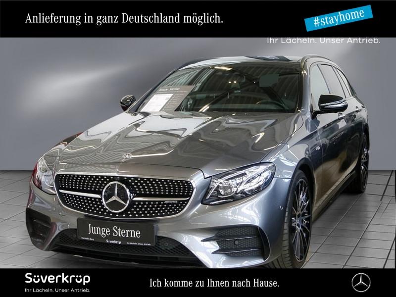 Mercedes-Benz E 53 AMG T 4M+ PANO+STANDHZG+HUD+NAPPA+MEMO+WIDE, Jahr 2018, Benzin