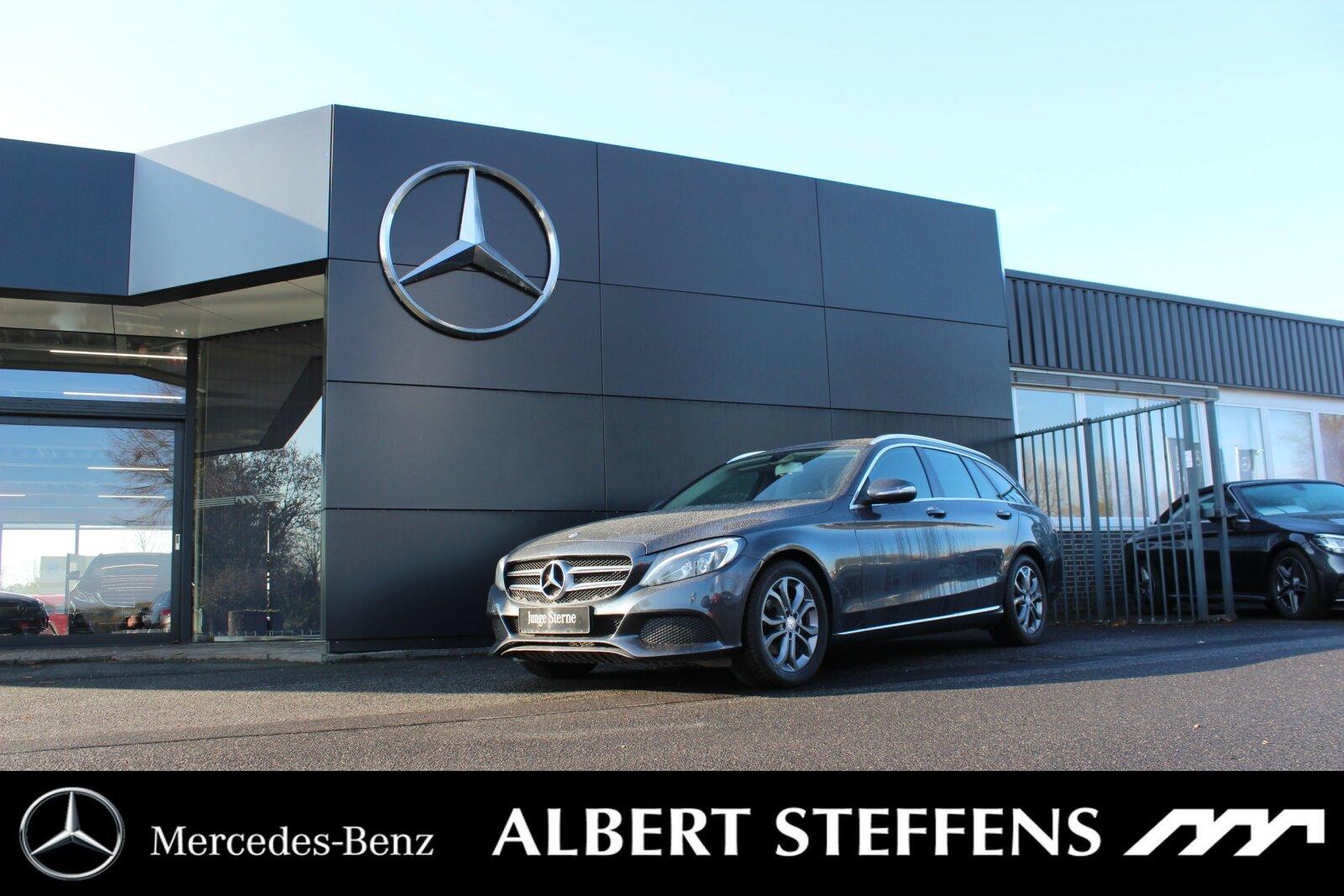 Mercedes-Benz C 200 d T Avantgarde AHK+NAVI+SHZ+LED Navi/Klima, Jahr 2014, Diesel