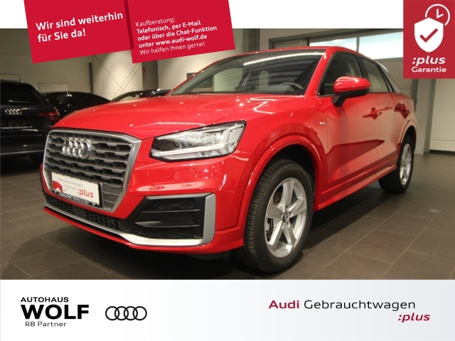 Audi Q2 30 TDI S-Line Navi LED ACC Gepäckklappe elektr., Jahr 2019, Diesel