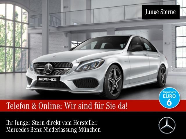Mercedes-Benz C 43 AMG 4M Perf-Abg ILS SHD Distr 360°Burmester, Jahr 2017, Benzin