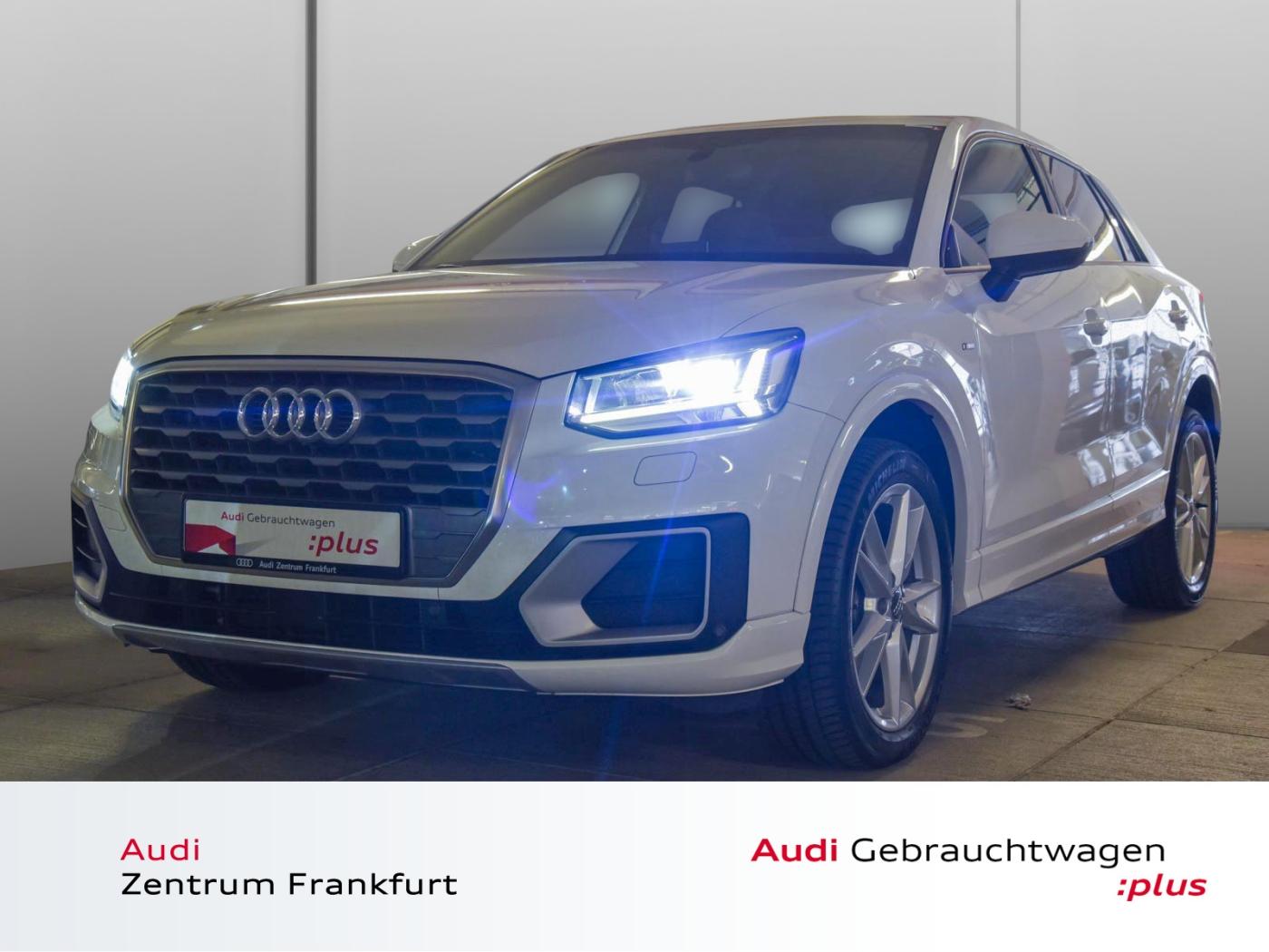 Audi Q2 1.6 TDI S tronic S line LED Navi Tempomat PDC, Jahr 2017, Diesel