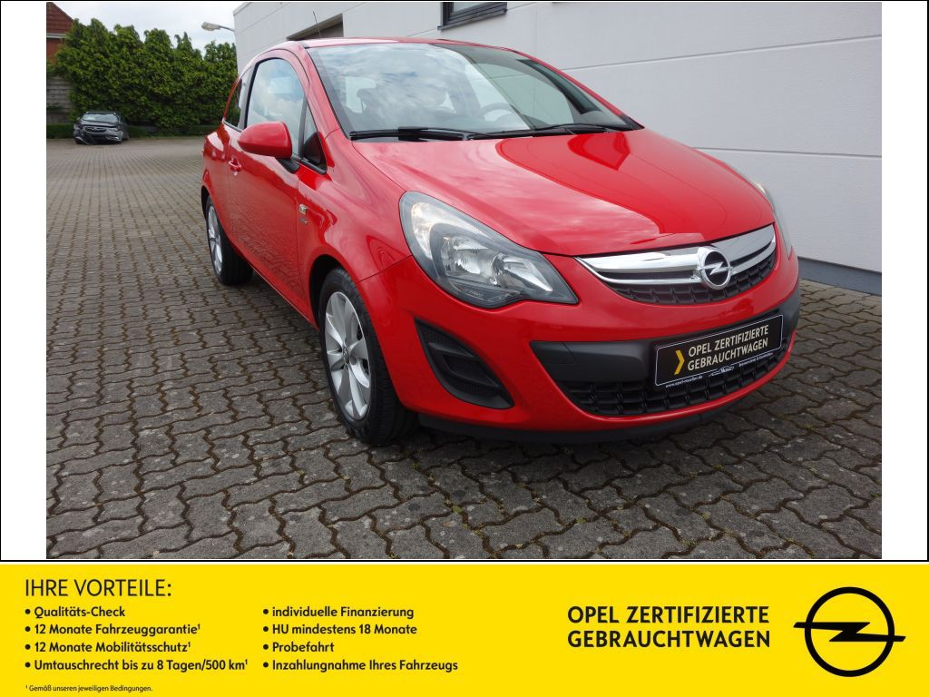 Opel Corsa 1.4 16V Active SHZ, Jahr 2013, Benzin