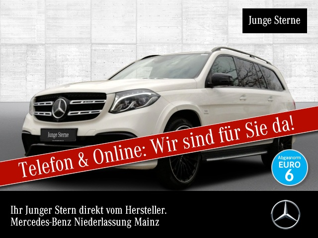Mercedes-Benz GLS 63 AMG 4M B&O NP169000 Fondent 360° Airmat, Jahr 2018, Benzin