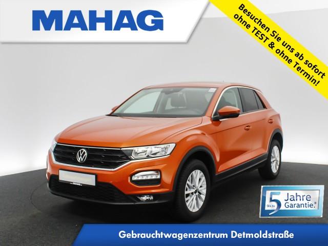 Volkswagen T-ROC 1.6 TDI Navi AppConnect Bluetooth ParkPilot 16Zoll 6-Gang, Jahr 2020, Diesel