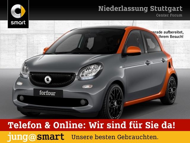 smart forfour 52kW passion cool&Audio Sport SHZ Pano, Jahr 2015, Benzin