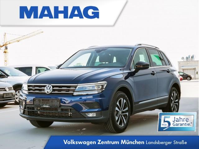 Volkswagen Tiguan 1.5 TSI IQ.DRIVE Navi LED AHK HUD Sitzhz. ParkAssist FahrerAssistPlus 17Zoll 6-Gang, Jahr 2020, Benzin