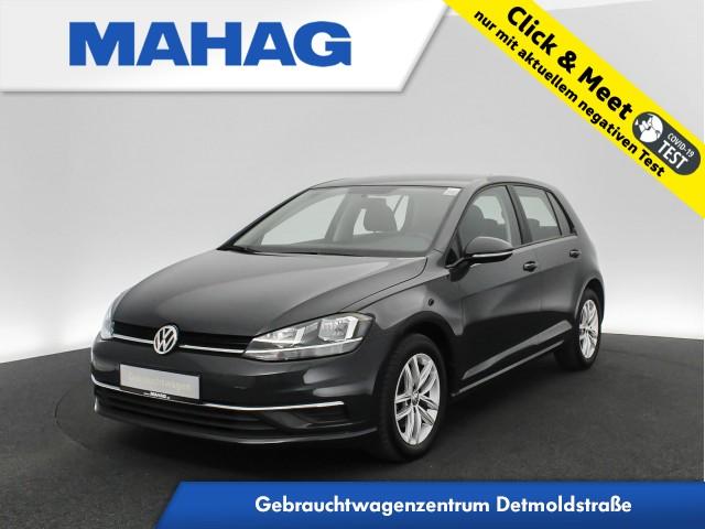 Volkswagen Golf VII 1.6 TDI Comfortline Navi DAB+ Sitzhz. ParkPilot FrontAssist 16Zoll DSG, Jahr 2019, Diesel