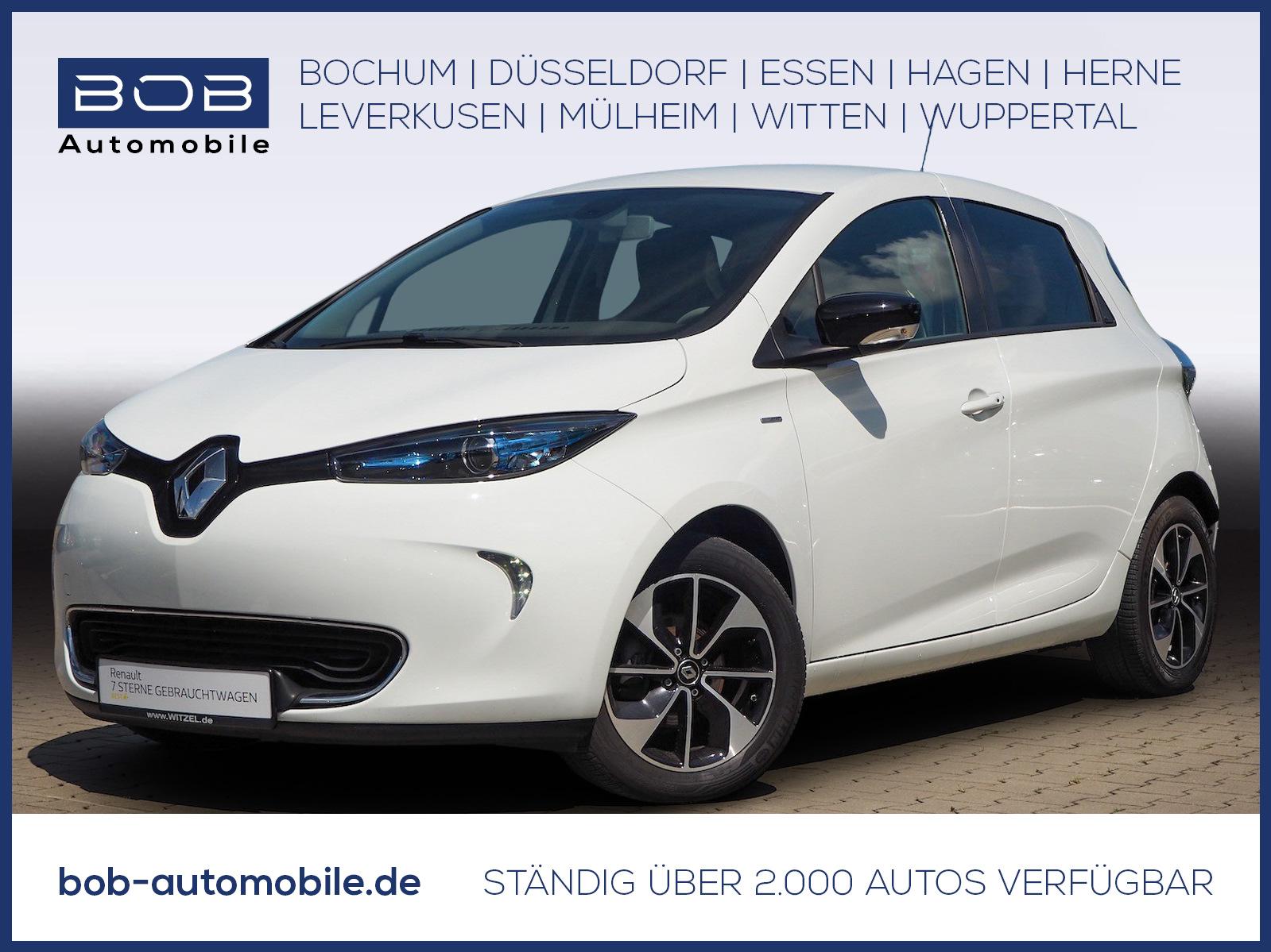 Renault ZOE 41kWh Intens Bose NAVI SHZ LEDER, Jahr 2018, Elektro
